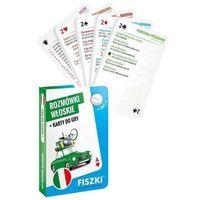 Książki do nauki języka, Rozmówki włoskie i Karty do gry 2w1 - KINGA PERCZYŃSKA (opr. twarda)