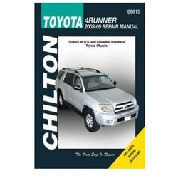 Toyota 4Runner 2003-09 (Chilton USA)