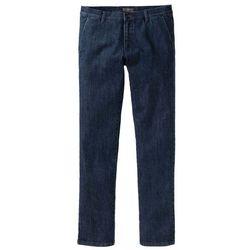 Spodnie ze stretchem z wstawkami i zamkami bonprix bordowo-czarny