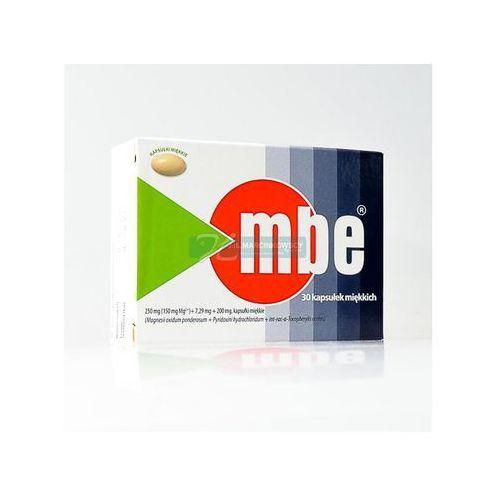 Witaminy i minerały, MBE kaps.miękkie 0,15g Mg2+7,29mg+0,2g 30 kaps. (blist.)