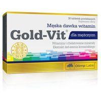 Witaminy i minerały, Olimp Gold-Vit dla mężczyzn 30 tab.