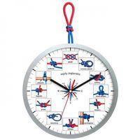 Zegary, Zegar ścienny dla żeglarzy węzły żeglarskie
