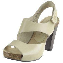 Sandały Nessi 42103 - Beżowe 12