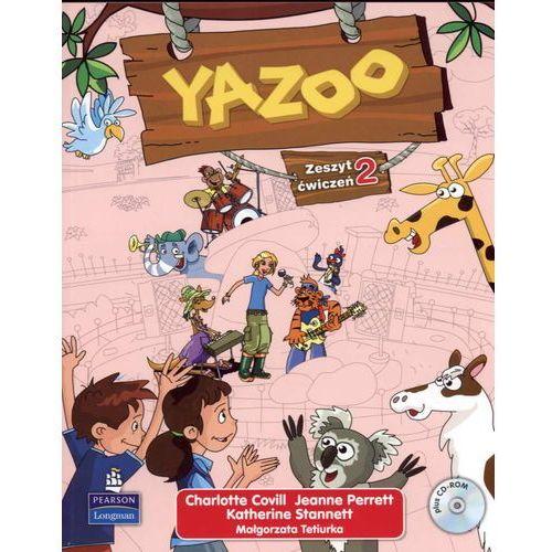 Książki do nauki języka, Yazoo 2 SP KL 1-3. Ćwiczenia. Język angielski + cd (opr. miękka)