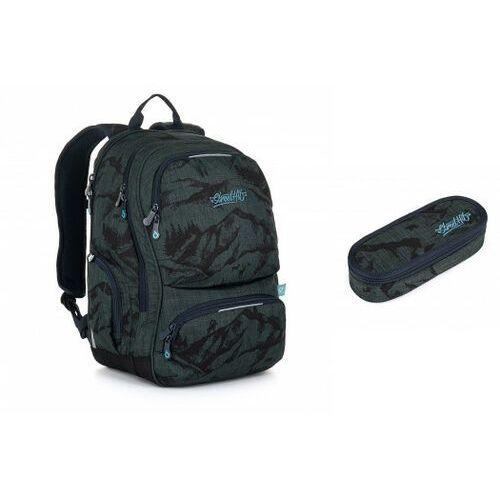 Tornistry i plecaki szkolne, Plecak młodzieżowy Topgal ROTH 20048 B