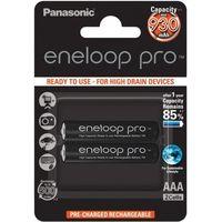 Akumulatorki, 2 x akumulatorki Panasonic Eneloop PRO R03 AAA 950mAh BK-4HCDE/4BE (blister)