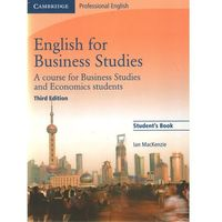 Biblioteka biznesu, English for Business Studies Student's Book (opr. miękka)