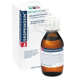 GROPRINOSIN 250 mg/5 ml syrop 150 ml