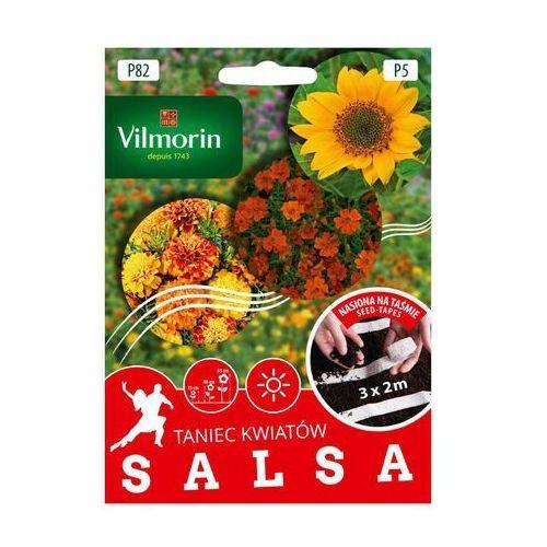 Nasiona, Mieszanka kwiatów SALSA nasiona na taśmie 3 x 2 m VILMORIN