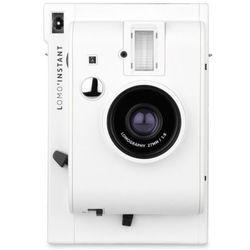 Lomography Instant aparat White Mini typu Polaroid na wkłady Instax Mini