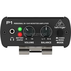 Behringer Powerplay P1 wzmacniacz do odsłuchów dousznych