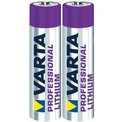 Varta litowa Professional Lithium Micro AAA 2 szt Darmowy odbiór w 21 miastach!