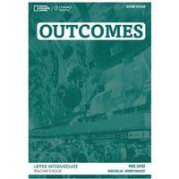 Książki do nauki języka, Outcomes Upper Intermediate 2nd Edition. Książka Nauczyciela + CD (opr. miękka)