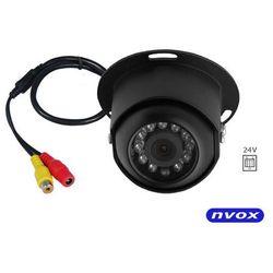 NVOX GDB06R Kamera samochodowa CCD SHARP w metalowej obudowie 24V