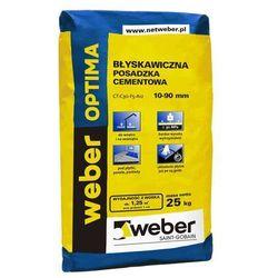 Posadzka cementowa błyskawiczna OPTIMA 25 kg WEBER
