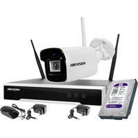 Zestawy monitoringowe, Hikvision Zestaw monitoringu bezprzewodowego 1 kamera WiFi 4MPx 1TB