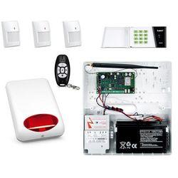 Bezprzewodowy System alarmowy SATEL MICRA + 3 PIR + PILOT + MANIPULATOR + SYGNALIZATOR