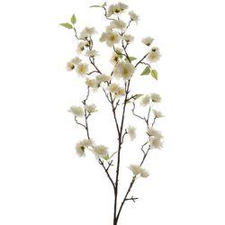 Kaemingk Dekoracja - kwitnąca wiśnia, jedwab - biały