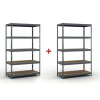 Regały warsztatowe, Regał półkowy 2000 x 1200 x 600 mm, nośność 280 kg 1+1 GRATIS Włóż do koszyka jedną sztukę, drugą sztukę wyślemy automatycznie gratis. Akcja trwa do wyprzedania zasobów.