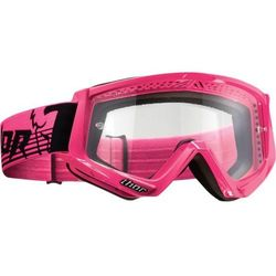 THOR GOGLE CONQUER OFFROAD FLO PINK/BLACK =$