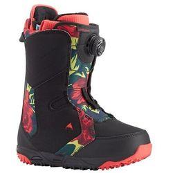 buty snowboardowe BURTON - Limelight Boa Black-Floral (002)