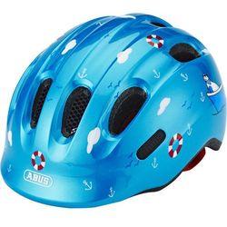 ABUS Smiley 2.0 Kask rowerowy Dzieci niebieski M | 50-55cm 2018 Kaski dla dzieci Przy złożeniu zamówienia do godziny 16 ( od Pon. do Pt., wszystkie metody płatności z wyjątkiem przelewu bankowego), wysyłka odbędzie się tego samego dnia.