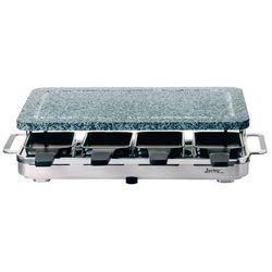 grill elektryczny Raclette 8 INOX z granitową płytą - SPRING - Inox