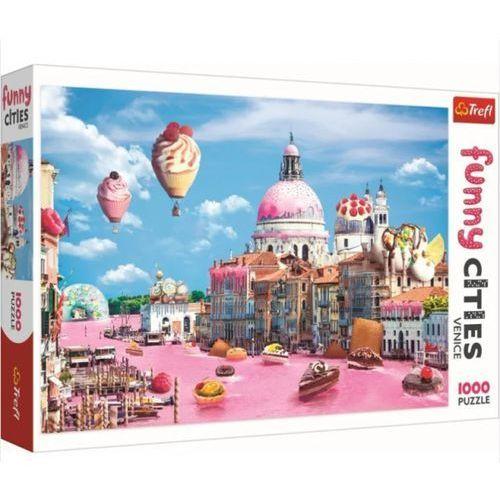Puzzle, Puzzle 1000 Słodycze w Wenecji TREFL