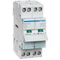 SBN424 Rozłącznik izolacyjny 25A 3 fazowy Hager (SB425)
