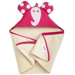 Ręcznik z kapturkiem 3 Sprouts - Słoń 736211285997