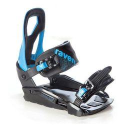 Wiązania snowboardowe Raven s200 (black / blue) 2020