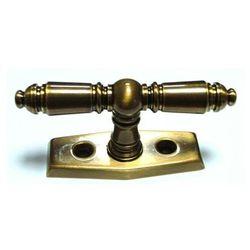 Klamka okienna MX 2-ramienna patyna lak
