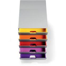 Kontener szufladowy Durable Varicolor 5 szuflad 7605 - mix