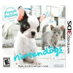 Gra NINTENDO 3DS Nintendogs + Cats - French Bulldog & new Friends