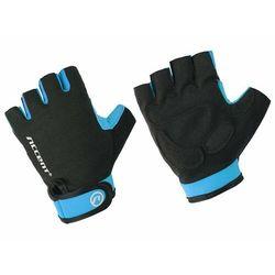 Rękawiczki Accent Bora czarno-niebieskie XL