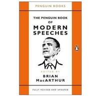 Filozofia, The Penguin Book of Modern Speeches - MacArthur Brian