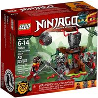 Klocki dla dzieci, Lego NINJAGO Atak cynobru 70621