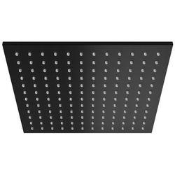 Kohlman deszczownica kwadratowa Q30 30x30 cm czarna
