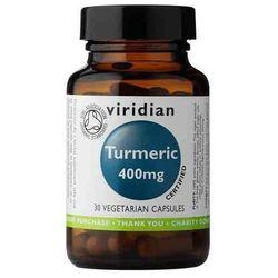 BIO organic Turmeric - kurkuma (30 kaps.) Viridian