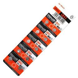 10 x bateria alkaliczna mini Maxell G3 / AG3 / L736 / 192 / LR41