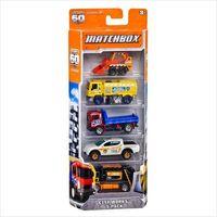 Pozostałe samochody i pojazdy dla dzieci, Matchbox. Samochodziki 5 sztuk Y2626