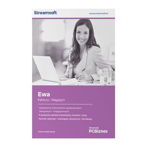 Programy kadrowe i finansowe, Streamsoft PCBIZNES EWA Faktury i magazyn