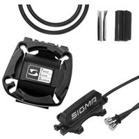 Liczniki rowerowe, Zestaw kablowy sigmauniversal bracket 20232012 czarny