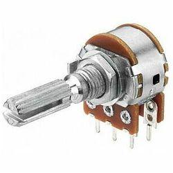 MONACOR VRB-100S100 Potencjometr liniowy stereo, 100kΩ