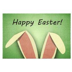 """Wycieraczka """"Happy Easter"""" bonprix zielony"""