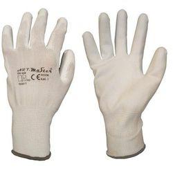 Rękawice ochronne r. L / 8 nylonowe z powłoką poliuretanową