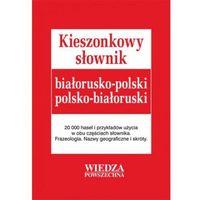Książki do nauki języka, Kieszonkowy słownik białorusko-polski polsko-białoruski (opr. kartonowa)