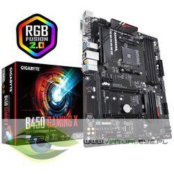 Gigabyte Płyta główna B450 GAMING X 4DDR4 DVI/HDMI/M.2/USB 3.1 ATX