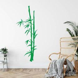 szablon malarski bambus 0777