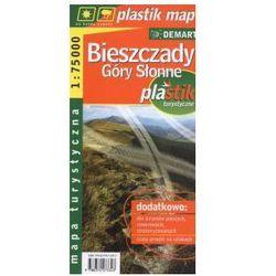 Bieszczady.Góry Słonne. Mapa turystyczna. Laminowana. 1:75 000 Demart